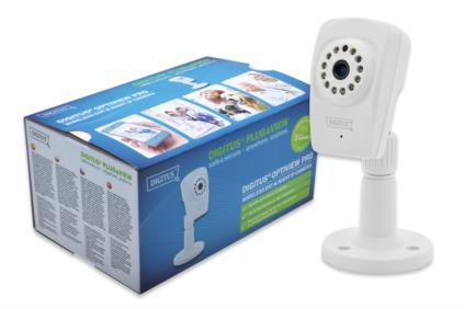 DIGITUS® Plug&View OptiView Pro 1MP Denní & Noční kamera - Poškozený obal