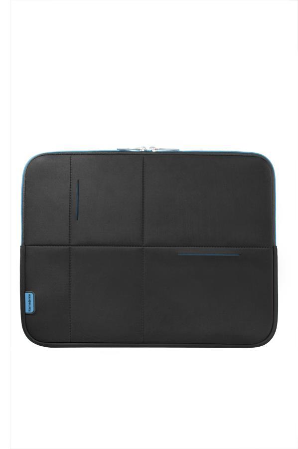 Sleeve SAMSONITE U370900714,1'' AIRGLOW computer, poliamid, black, blue