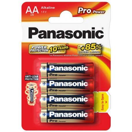 Panasonic Pro Power Alkaline baterie LR6/AA, 4 ks, Blister
