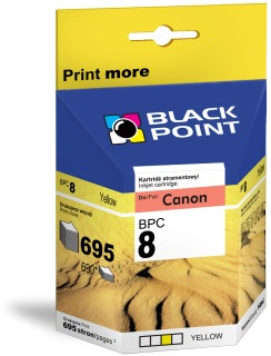 Ink Black Point BPC8Y | Yellow | chip | 14ml | 695 p. | Canon CLI-8Y