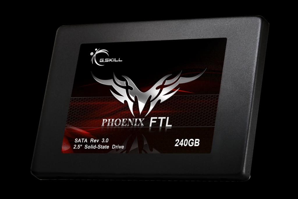 G.Skill SSD Phoenix FTL 240GB 2.5'' SATA3 6GB/s, MLC, 550/530 MB/s, IOPS 70/85K