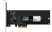 Kingston 240GB SSD disk KC1000 NVMe PCIe - HHHL (Add-in Card) Version
