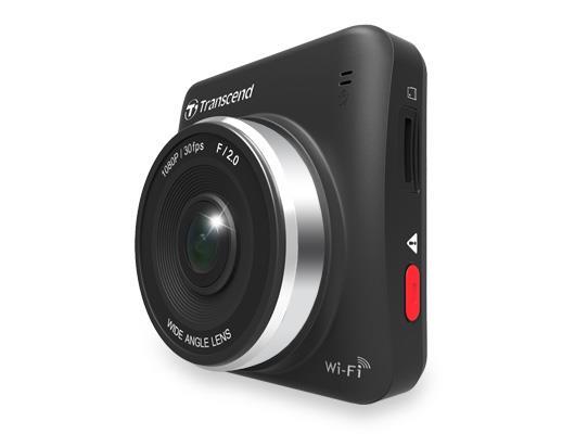 Transcend kamera do auta, 32GB DrivePro 200, 2.4'' LCD, s lepícím držákem