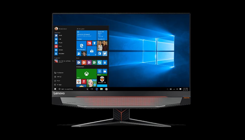 """Lenovo IdeaCentre AIO Y910-27ISH i7-6700 3,30GHz/16GB/SSD 256GB + HDD 1TB/27"""" QHD/GeForce 8GB/DVD-RW/WIN10 FF0CJ004DCK"""