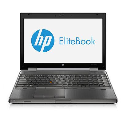"""HP EliteBook 8570w 15,6"""" i7-3820QM/16GB/320GB/Win10P"""