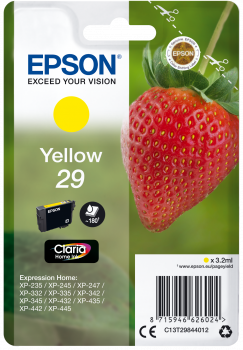 Inkoust Epson Singlepack Yellow 29 Claria Home Ink 3,2 ml
