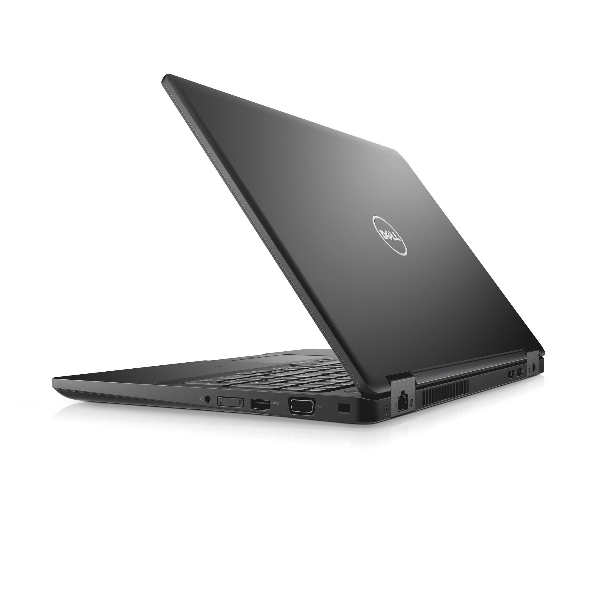 """Dell Latitude 5580 15"""" FHD i7-7600U/8G/256GB SSD/SCR/MCR/HDMI/VGA/USB-C/LTE/W10P/3RNBD/Černý"""