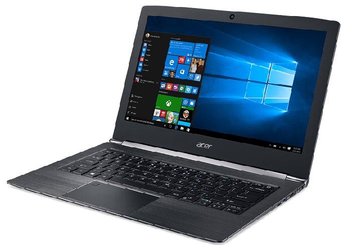 """Acer Aspire S 13 (S5-371-33VS) i3-7100U/4GB+N/A/128GB SSD M.2+N/HD Graphics/13.3"""" FHD/BT/W10 Home/Black"""