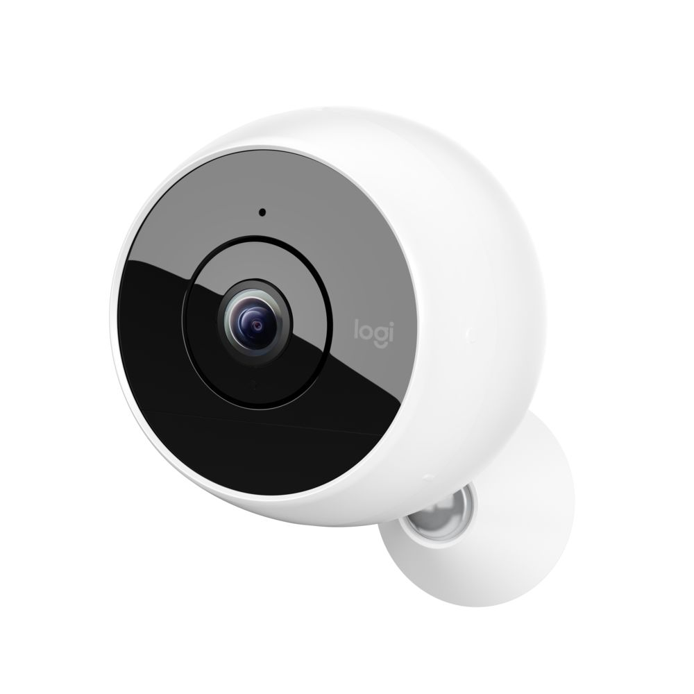 Logitech® Circle 2 Indoor/outdoor security camera, 100% wire-free - WHITE - EMEA