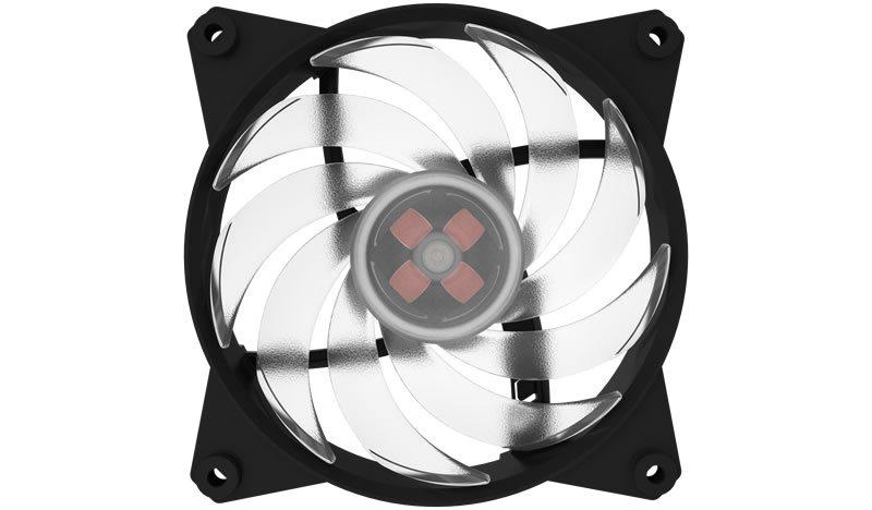 větrák Cooler Master MasterFan Pro 120 Air Balance RGB