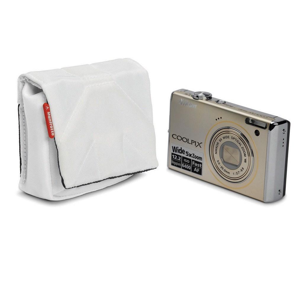 Manfrotto STILE SCP-1SW NANO, pouzdro na kompaktní fotoaparát vel.1, bílá