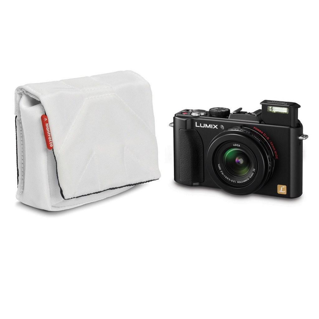 Manfrotto STILE SCP-3SW NANO, pouzdro na kompaktní fotoaparát vel.3, bílá