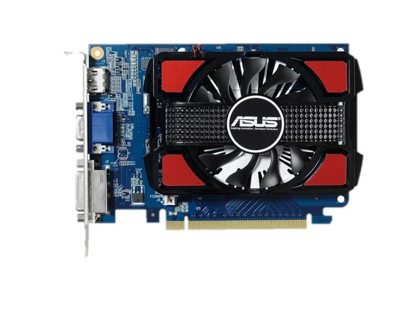 ASUS GeForce GT 730, 4GB GDDR3 (128 Bit), HDMI, DVI, D-Sub
