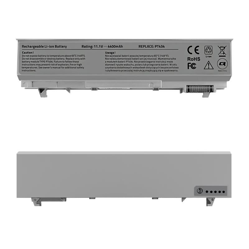 Qoltec Long Life baterie pro notebooky Dell Latitude E6400 E6500 11.1 V 4400 mAh