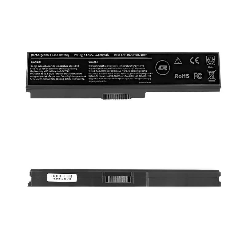 Qoltec Long Life baterie pro notebooky Toshiba PA3634, 10.8-11.1V | 4400mAh