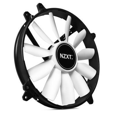 NZXT ventilátor RF-FZ20S-O1/FZ 200mm LED Airflow Fan Series/oranžový/103 CFM/20 dBA/2 roky záruka