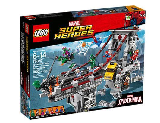 LEGO SUPER HEROES 76057 Spiderman: Web Warriors Ultimate Bridge Battle