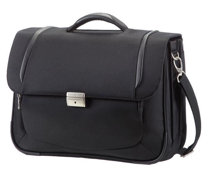Briefcase SAMSONITE 23V09005 X'BLADE2.0 16'' computer, 2 x docu, pocket, black