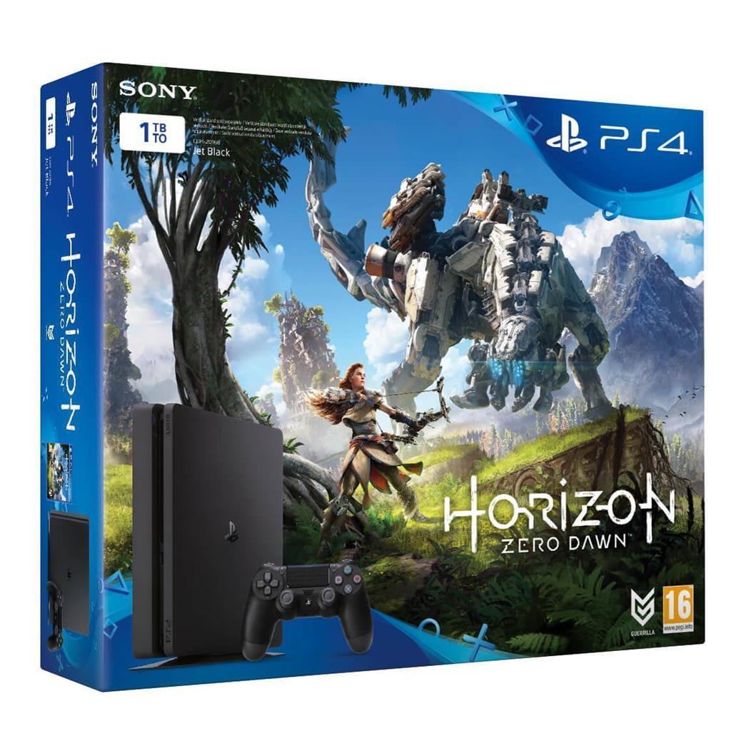 Sony Playstation 4 Slim 1TB + Horizon Zero Dawn