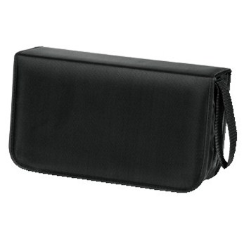 Hama pouzdro CD Wallet Nylon 120, barva černá