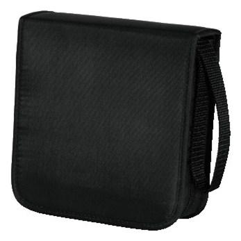 Hama pouzdro CD Wallet Nylon 40, barva černá