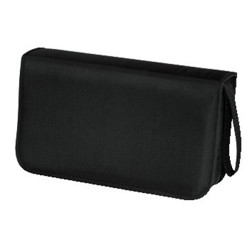 Hama pouzdro CD Wallet Nylon 80, barva černá