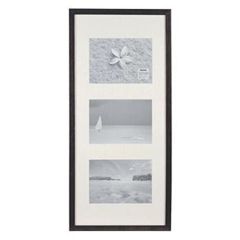 Hama 1141 rámeček dřevěný Galerie STOCKHOLM, černý, 23x45cm
