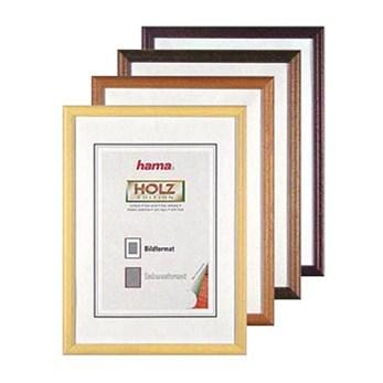 Hama rámeček dřevěný OREGON, hnědý, 10x15cm