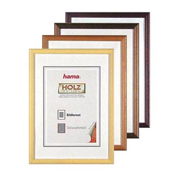 Hama rámeček dřevěný OREGON, hnědý, 30x45cm