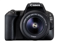 Canon EOS 200D zrcadlovka - tělo (černé) + 18-55