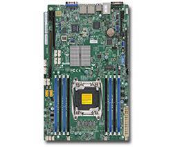 SUPERMICRO MB 1xLGA2011-3, iC612 8x DDR4 ECC,10xSATA3,(PCI-E 3.0/1,1(x8,x32),2x LAN,IPMI, bulk
