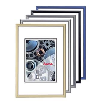 Hama rámeček hliníkový CHICAGO, modrý, 15x20cm