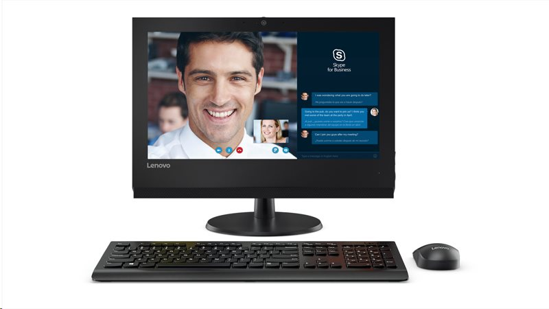 "Lenovo AIO V310z 19,5"" HD+/i3-7100/4GB/1TB-7200/HD Graphics/DVD-RW/WebCam/DOS"