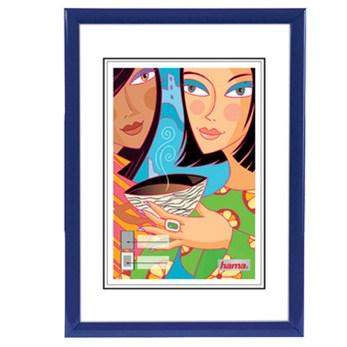 Hama rámeček plastový MADRID, modrý, 13x18cm