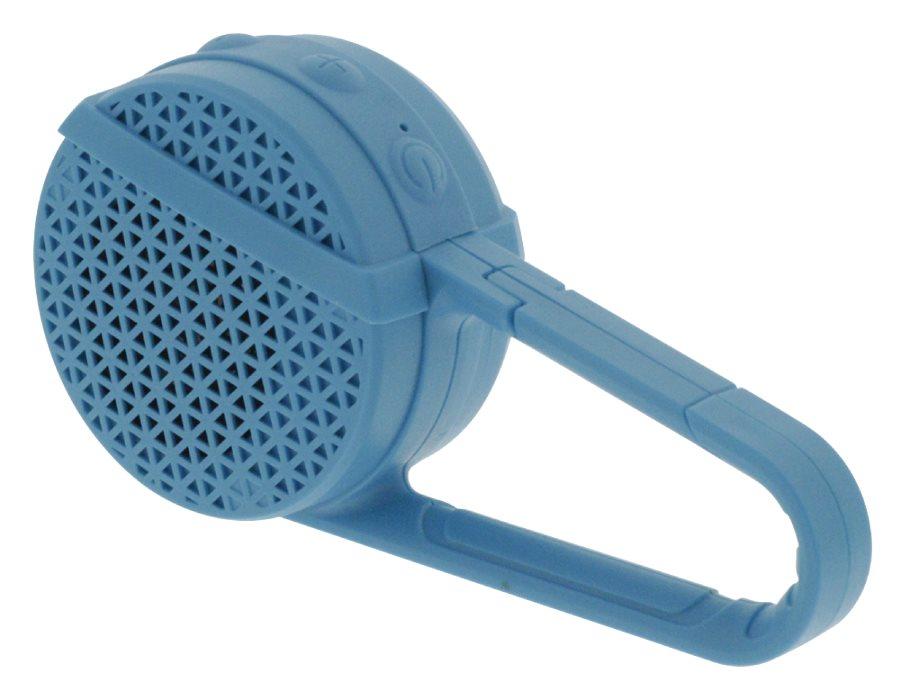 Sweex SWBTSP100BU - přenosný bezdrátový Bluetooth reproduktor s funkcí hands-free, 3W, modrý