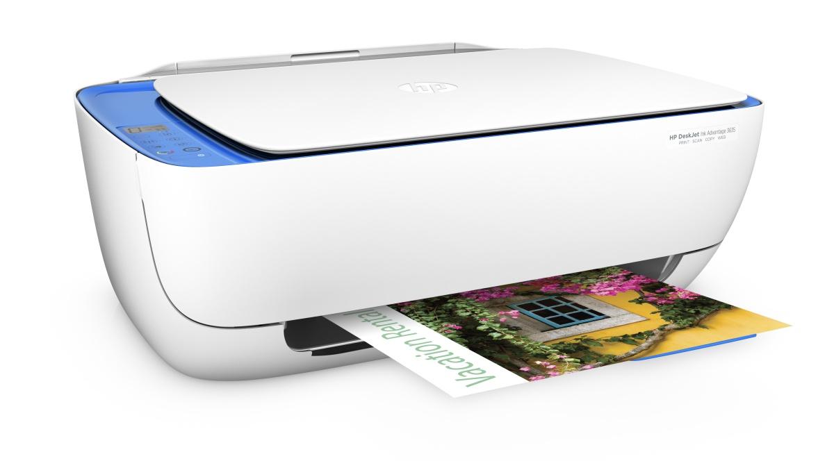 HP All-in-One Deskjet Ink Advantage 3635 (A4, 8,5/6 ppm, USB, Wi-Fi, Print, Scan, Copy)