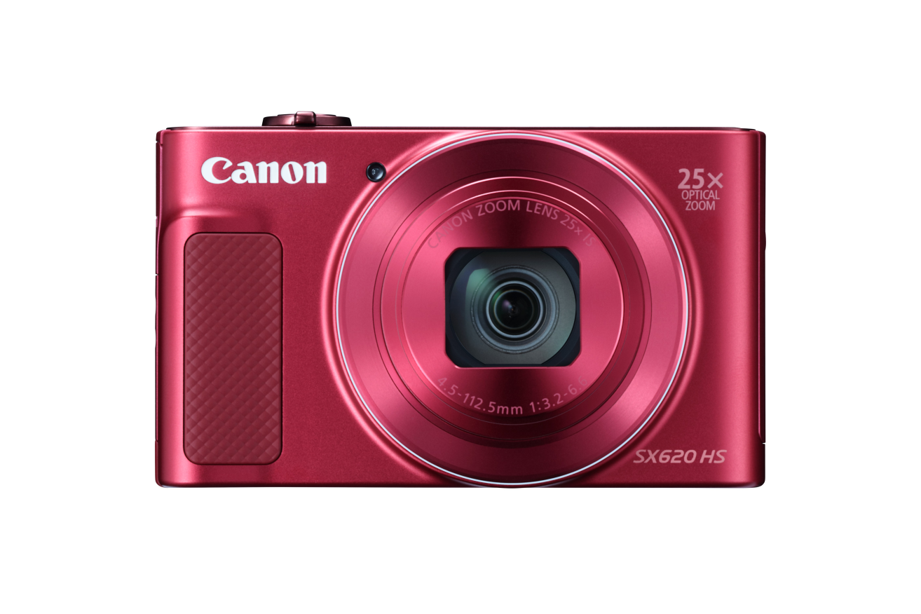 Canon PowerShot SX620HS RED Essential Kit (8GB SD, DCC-2400)