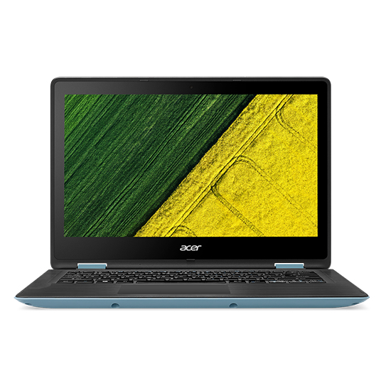 "Acer Spin 1 (SP113-31-P7J5) Pentium N4200/4 GB+N/A/64GB eMMC+N/A/HD Graphics/13.3"" FHD Multi-touch/BT/W10 Home/Blue/Black"