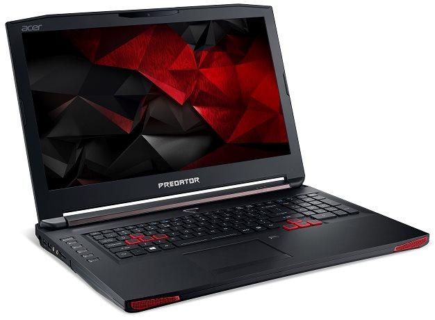 "Acer Predator 17 (G5-793-71L7) i7-6700HQ/8GB+N/1TB 7200rpm/GTX 1060 6GB/17.3"" FHD IPS matný/BT/W10 Home/Black"