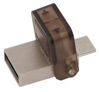 Kingston 32GB DataTraveler microDuo (USB 2.0) - šedý