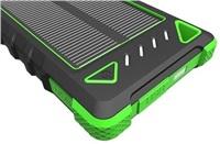 Solární outdoorová powerbanka Akula I 8000mAh Ultra Light, zelená