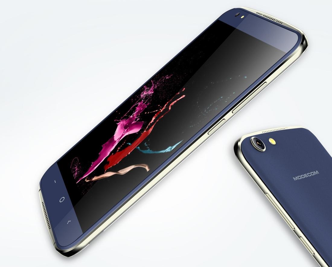 """Modecom Smartphone Q-503 Dual SIM/5"""" IPS/854x480/Quad-Core 1,2GHz/1GB RAM/8GB flash/5Mpix/Android 5.1/black"""