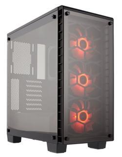 Corsair PC skříň Crystal Series 460X RGB ATX Mid-Tower ocelová
