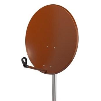 Hama satellite Dish, 80 cm, red