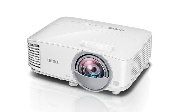 Projektor BenQ MW826ST DLP, WXGA, 12000;1, 3400 ANSI; Short-throw(87''@0.91m)