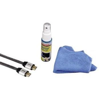Hama set: HDMI kabel s čisticím gelem a utěrkou