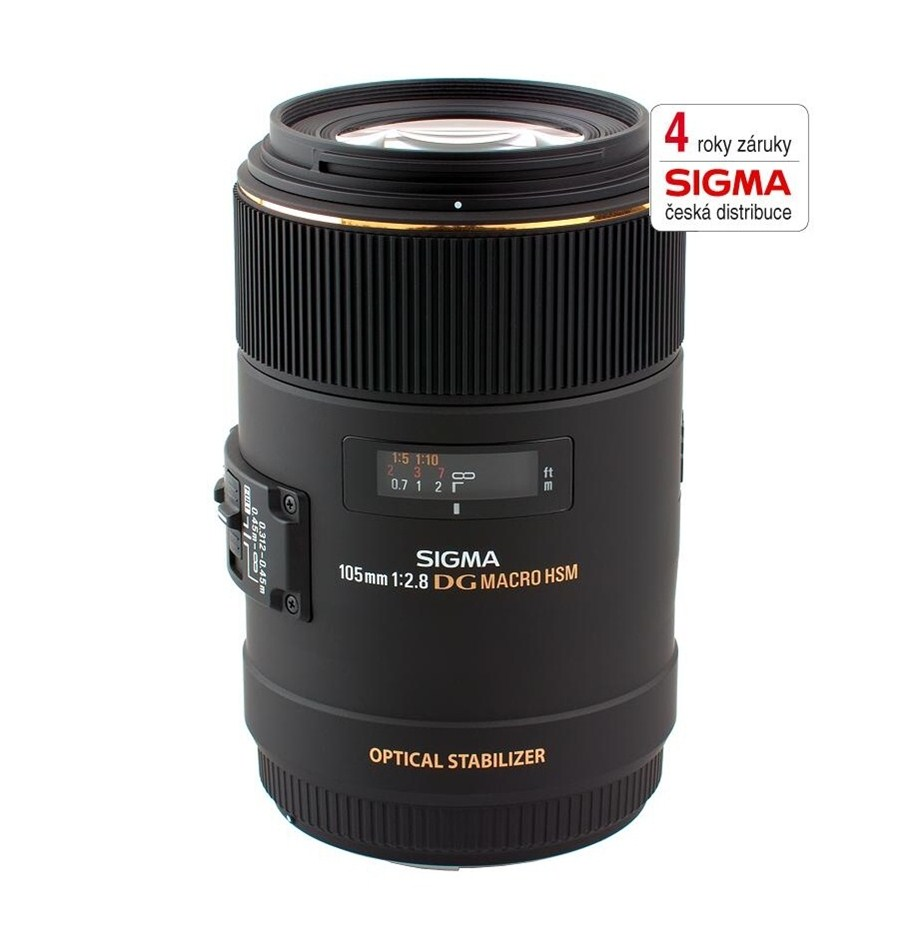 SIGMA 105/2.8 MACRO EX DG OS HSM Canon