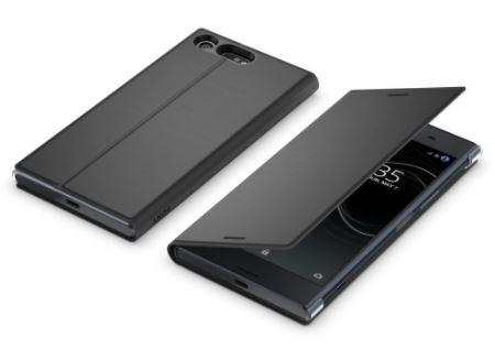 Sony Style Cover Flip pro Xperia XZ Premium Black