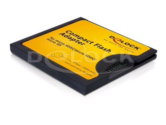 DeLock Adapter CF I na microSDHC