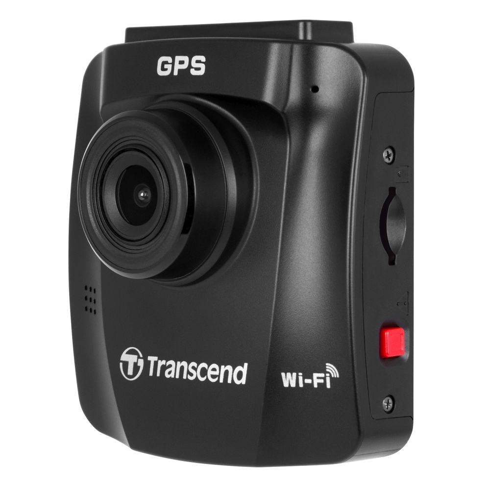 """Transcend DrivePro 230 autokamera, Full HD 1080p, 2.4"""" LCD, 16GB microSDHC, GPS, Wi-Fi, USB 2.0, s přísavným držákem"""